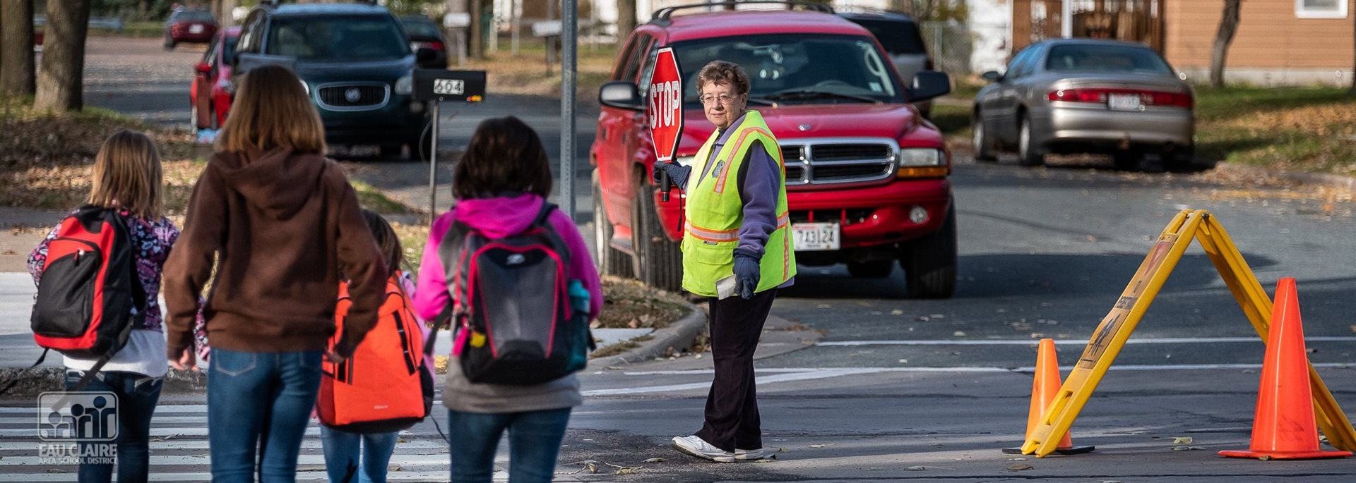 It's Adult School Crossing Guard Week!